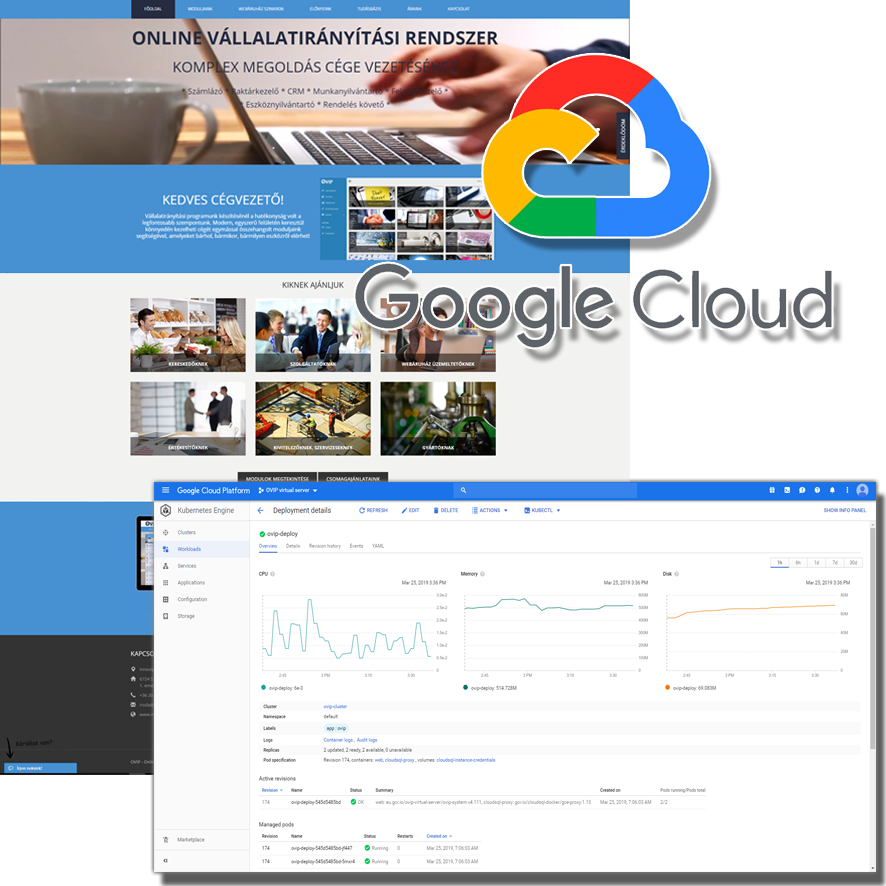 Migrating Ovip.hu ERP System into the Google Cloud